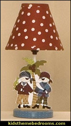 Cotton Tale Pirates Cove Decorator Lamp