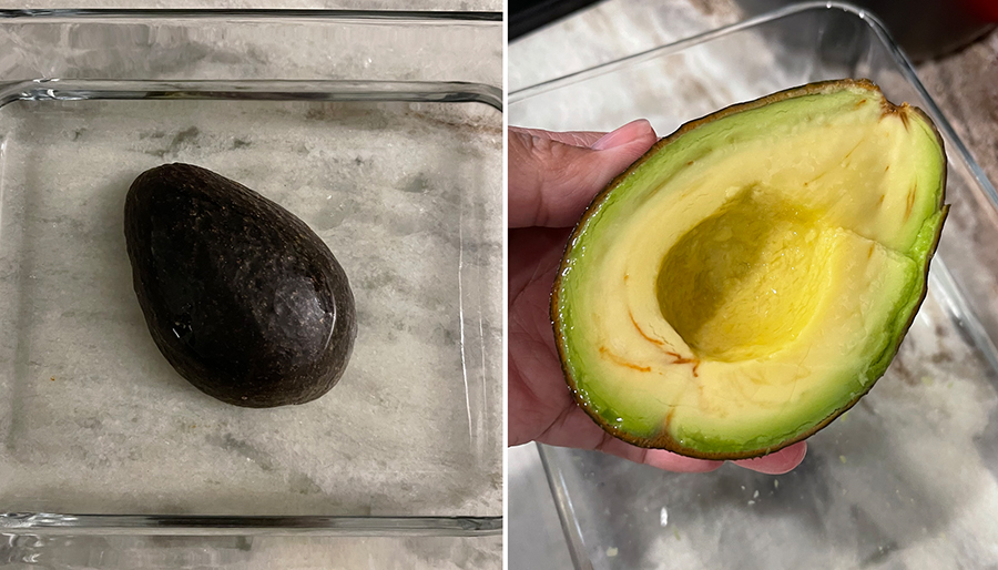 Can you store avocados in water?