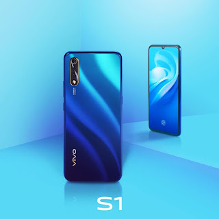 Vivo S1, Design Layar Ultra All Screen