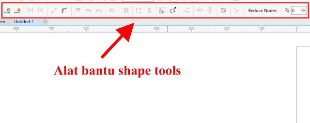 Cara Mudah Menggunakan Shape Tools CorelDraw