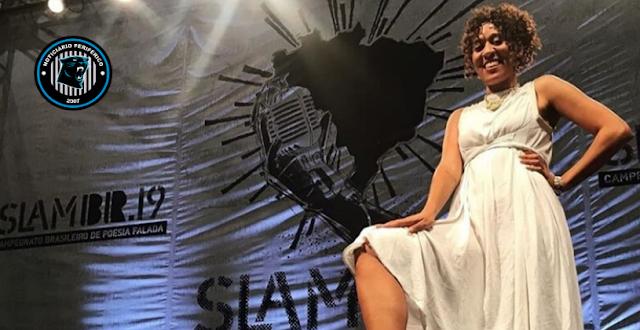 Poeta, preta e de quebrada, Kimani é a representante brasileira do Grand Poetry SLAM 2020