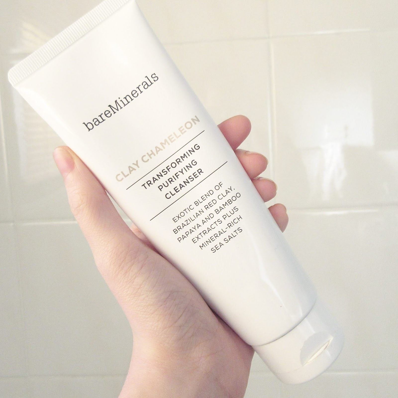 Bare Minerals Clay Chameleon Transforming Purifying Cleanser Review