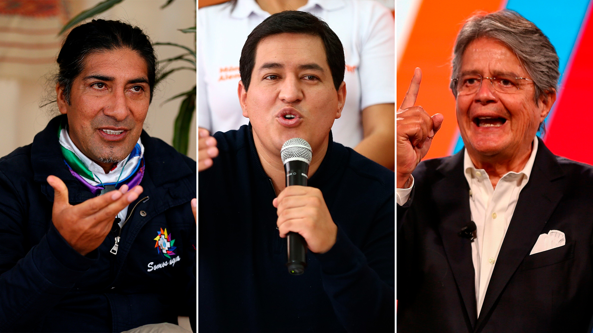 Elecciones en Ecuador: Andrés Arauz irá al ballottage con Yaku Pérez o Guillermo Lasso