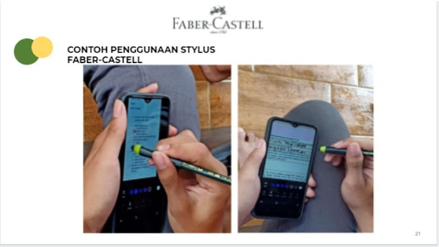 Cara menggunakan Stylus Faber-Castell Indonesia