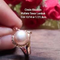 Harga Cincin Mutiara Lombok