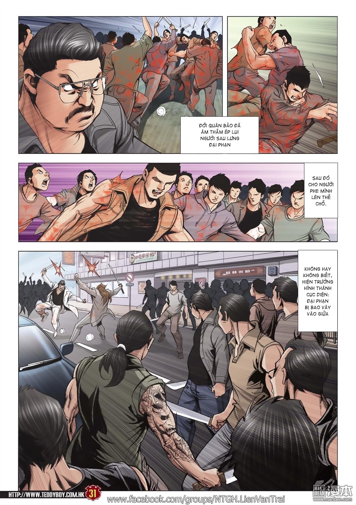 Người Trong Giang Hồ chapter 2015: tọa sơn hổ vs đại phạn trang 28