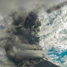 FOTO: Gunung Sinabung Erupsi, 2020