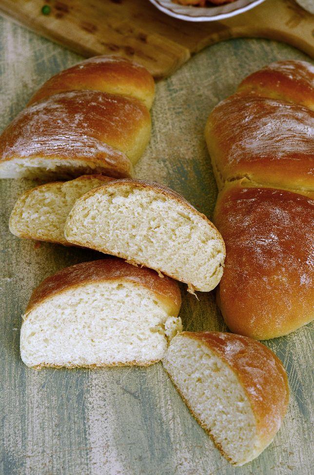 Хляб със заквасена сметана с едно втасване