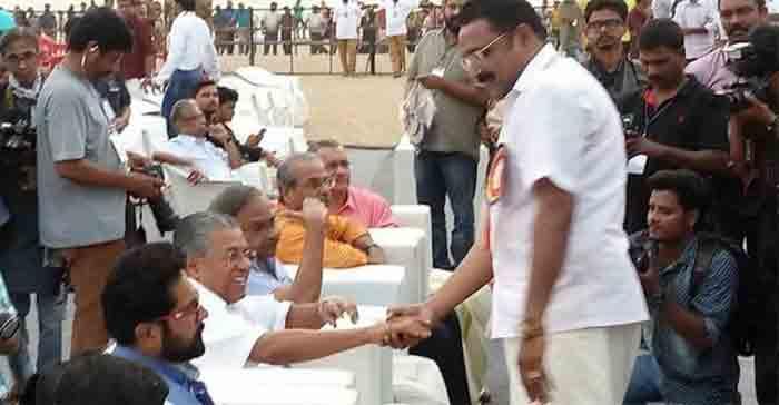 CM met the accused in Muttil Rosewood Smuggling case, says PT Thomas, Thiruvananthapuram, News, Politics, Allegation, Chief Minister, Pinarayi vijayan, Kerala, Trending, Photo