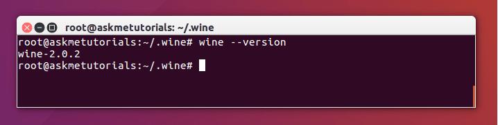 Install Wine 2 0 2 Stable on Ubuntu 17 04 / LinuxMint