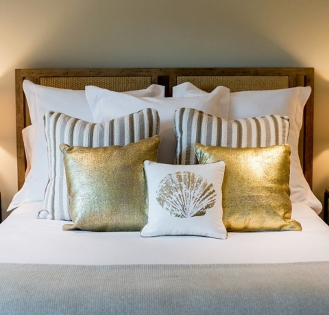 How to Use Coastal Pillows How to Decorate & Arrange