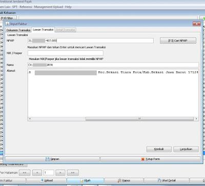 Cara Mengganti Alamat Lawan Transaksi di e-Faktur Versi 2.1