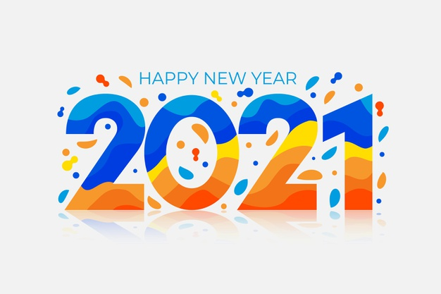 Happy New Year 2021 Design Concepts