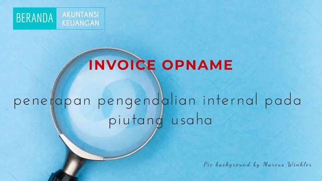 Invoice opname