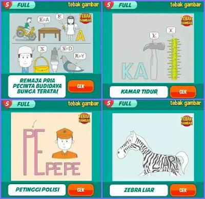 Jawaban tebak gambar level 20 nomor 17-20