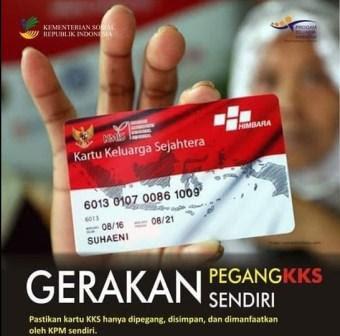 KPM PKH dan BPNT Wajib Pegang KKS Sendiri