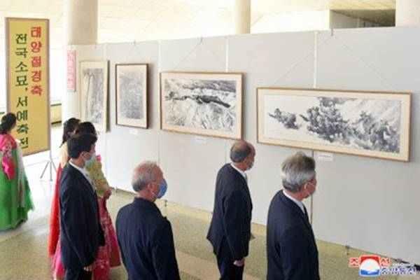 pencil drawing exhibition