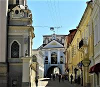 Ostra Brama (widok z ulicy Ostrobramskiej)