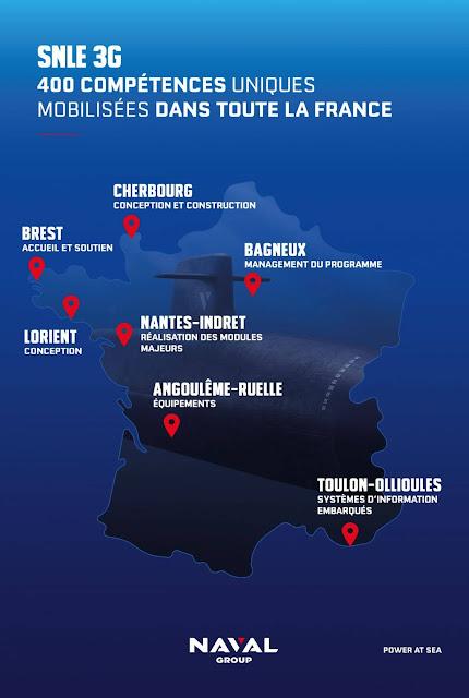 Lanzan la tercera generación de submarinos de misiles balísticos de propulsión nuclear franceses (SSBN)