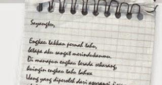 Surat Cinta Rindu Untuk Sang Pacar Kumpulan Contoh Surat