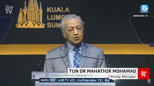 Dr. Mahatir Mohamad at KL Summit 2019 Closing