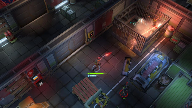 Juego AndroidTV Space Marshals 2