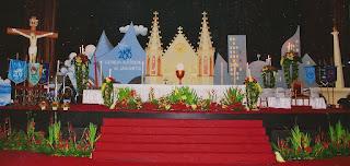 Dekorasi Natal Altar Gereja