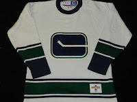 NHL CCM Heritage Jersey Collection - Vancouver Canucks Circa 1970