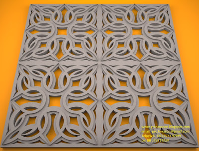 desain krawangan GRC motif Toraja