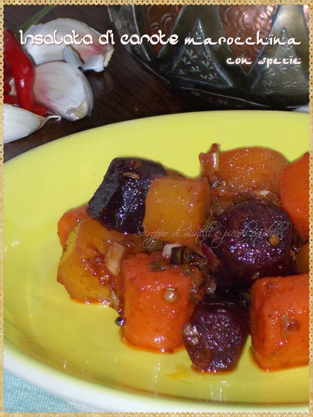 Insalata di carote marocchina con spezie