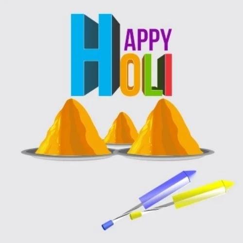 holi drawing for kids