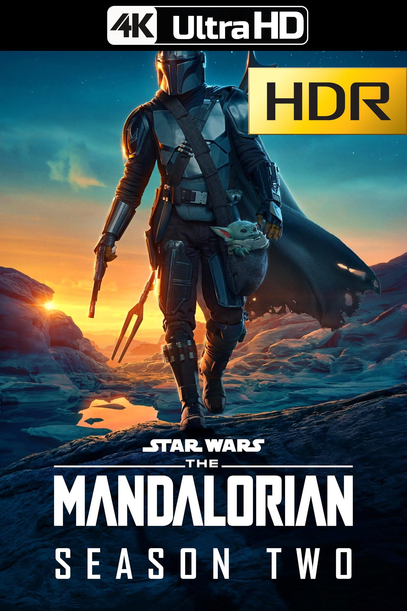 The Mandalorian (2020) Temporada 02 Web-DL 4K UHD HDR & SDR Latino