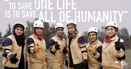 Expel those who defame the White Helmets