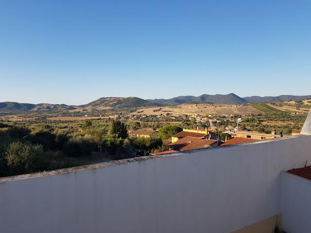Hotel Villa Santadi-Vista dalla camera