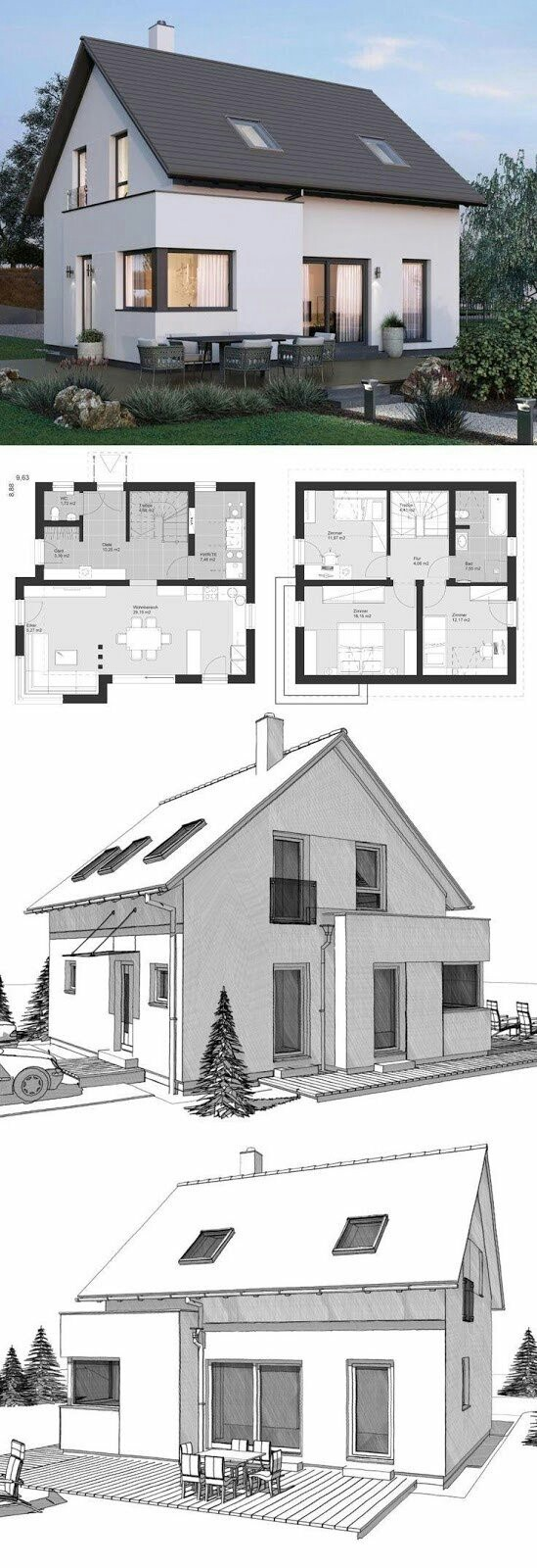 house front design pictures ground floor