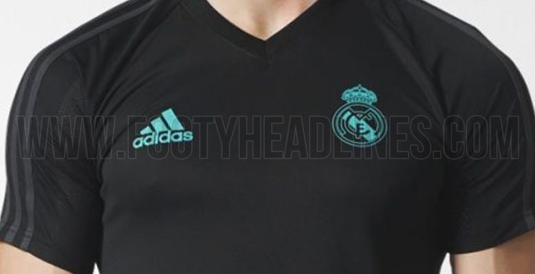 maillot entrainement Real Madrid 2017