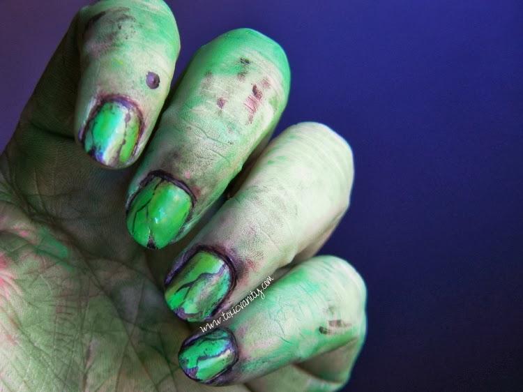Uñas de bruja | Bad Witch nail art - Toxic Vanity