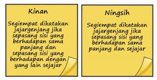 no 7 Soal dan Jawaban Ayo Kita Berlatih 8.2 Memahami Jenis dan Sifat Segiempat