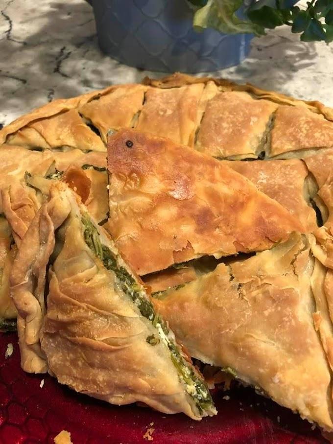 Τραγανό φύλλο για πίτα