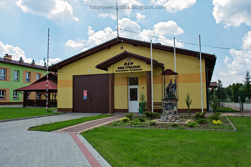 Dom Strażaka w Ostrowach Tuszowskich