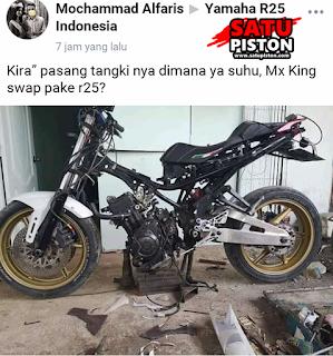 Seram, Yamaha MX King Ini Dimodif Swap Engine