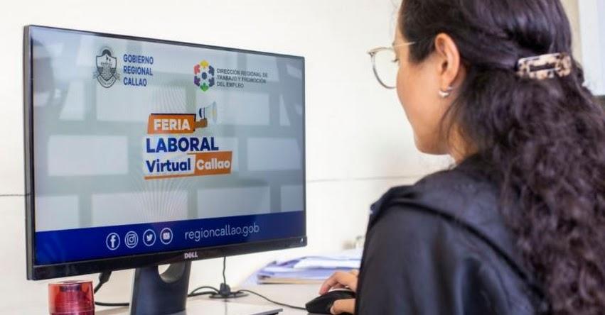 FERIA LABORAL VIRTUAL: Gobierno Regional del Callao ofertará 500 puestos de trabajo