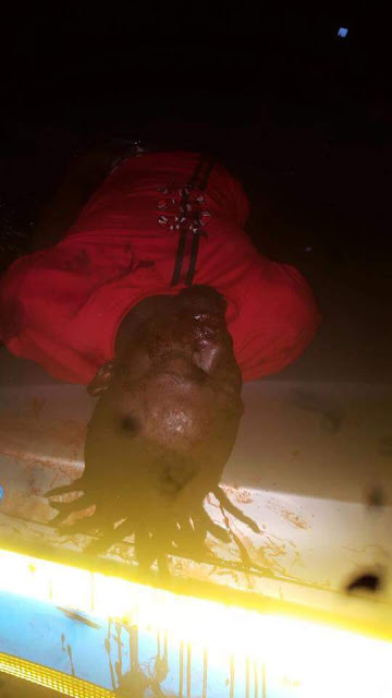 Photos: South African Police allegedly kill Nigerian man in Roodpoort