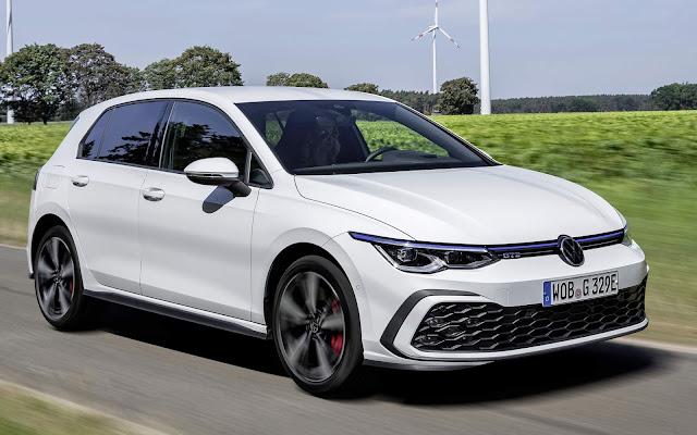 Volkswagen Golf GTE Mk8 2021 agrada em testes na Europa