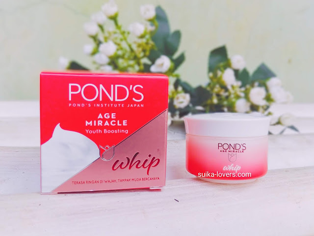 ponds anti aging, ponds whip cream