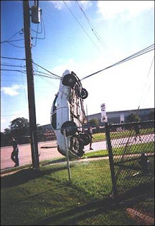 car vs power wires