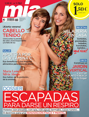 Revista Mia agosto 2020 noticias moda y belleza mujer