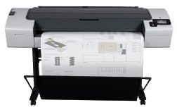 HP DesignJet T790 44-in Printer Software and Driver