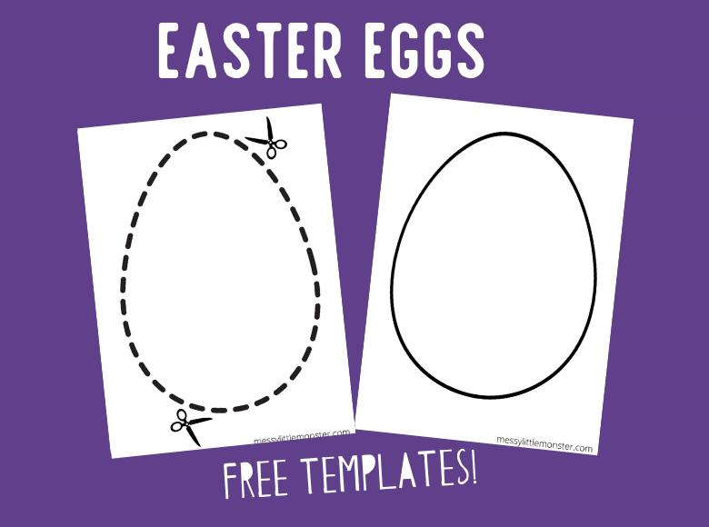 egg shape template