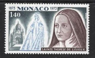 Monaco 1973 St Teresa Lisieux